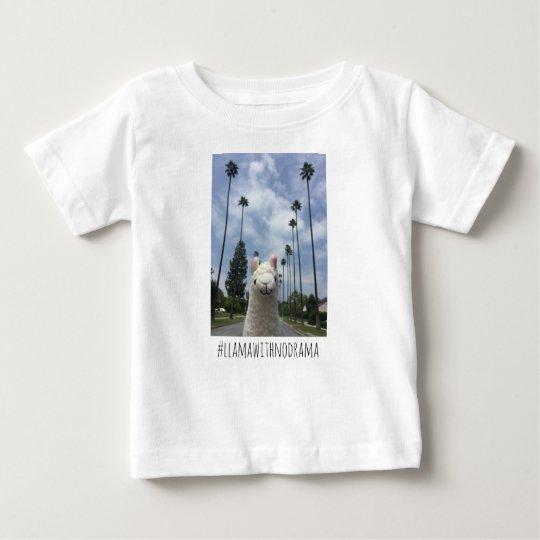 Lama ohne Drama LA Baby-T - Shirt