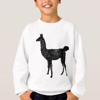 Lama-Pullover-Sweatshirt-Kinder und Sweatshirt