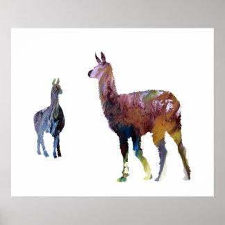 Lamas Poster