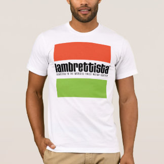 Lambrettista Tricolour T-Shirt
