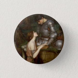 Lamia durch John William Waterhouse Runder Button 3,2 Cm