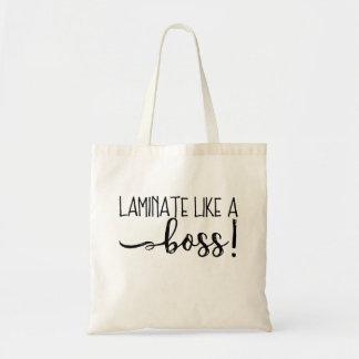 Laminat wie eine Chef-Taschen-Tasche Tragetasche
