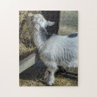 Lamm-Fotopuzzlespiel