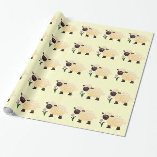 Lamm-Packpapier Geschenkpapier