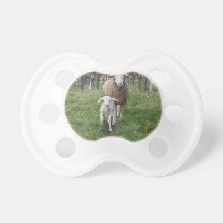 Lamm und Schafe Schnuller
