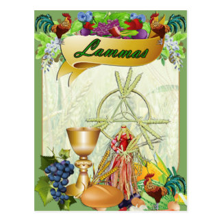 Lammas Lughnasadh heidnische Postkarte