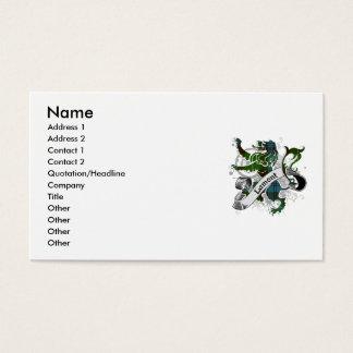 Lamont Tartan-Löwe Visitenkarten