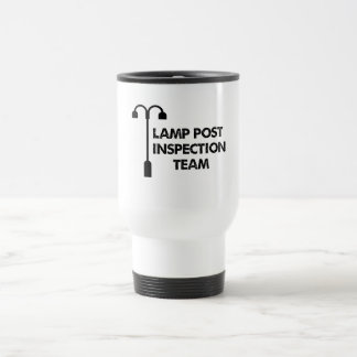 Lampen-Posten-Inspektionsteam Reisebecher