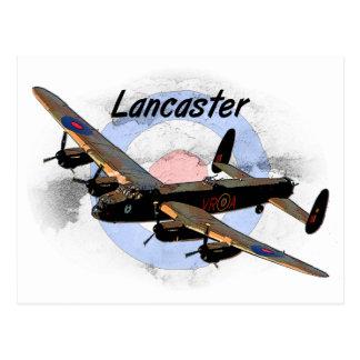 Lancaster-Bomber Postkarte