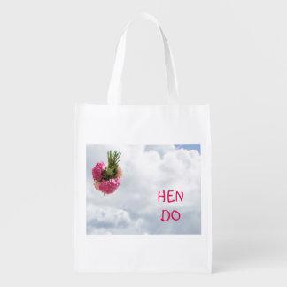 Lancement du sac réutilisable de bouquet sac réutilisable d'épcierie