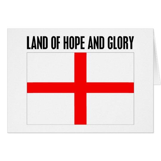 Land der Hoffnung und des Ruhmes Grußkarte