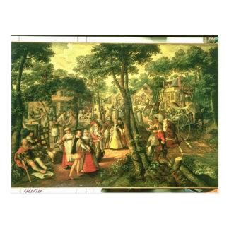 Land-Feier, 1563 Postkarte