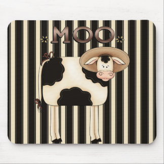 Land-Kuh-Spaß Mousepad