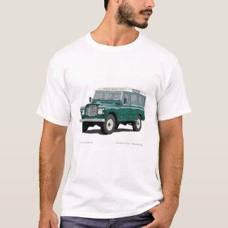 Land Landy Vagabund-Auto-klassische Vintage T-Shirt
