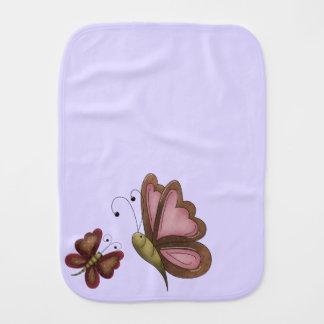 Land-Schmetterlings-Lavendel Unisex Spucktücher