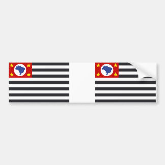 Landesflagge Sao Paulo Autoaufkleber