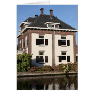 Landhaus auf der Bank des Flusses Vecht Karte