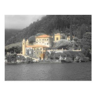 Landhaus Balbianello See Como Postkarte