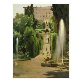 Landhaus D'Este, Tivoli, 1869 Postkarte