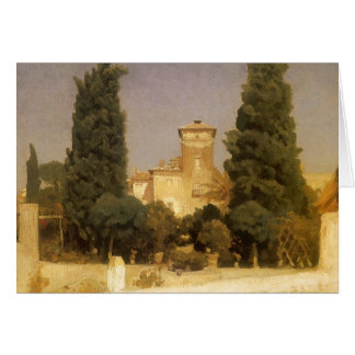 Landhaus Malta, Rom durch Lord Leighton Karte
