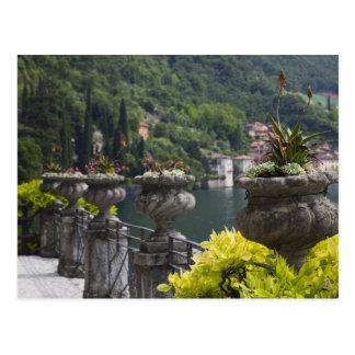 Landhaus Monastero, Gärten und Seeseite, Varenna, Postkarte