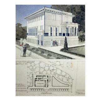 Landhaus Wagner, Wien Postkarte