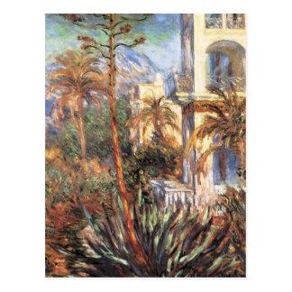 Landhäuser in Bordighera Postkarte