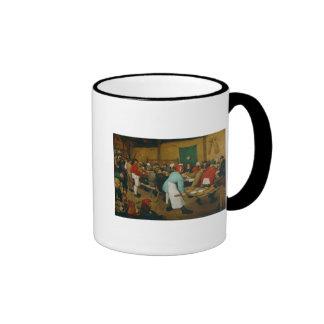 Ländliche Hochzeit, 1568 Kaffee Tassen