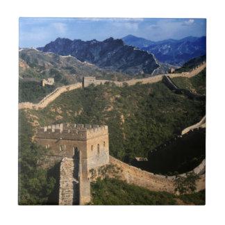 Landschaft der großen Wand, Jinshanling, China Keramikfliese