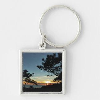 Landschaft des Torrey Kiefern-Sonnenuntergang-III Schlüsselanhänger