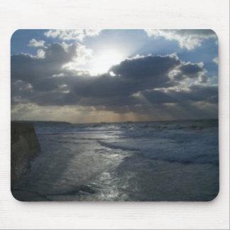Landschaft - Himmel u. Ozean Mousepads
