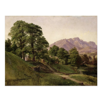 Landschaft in oberem Bayern, 1836 Postkarten