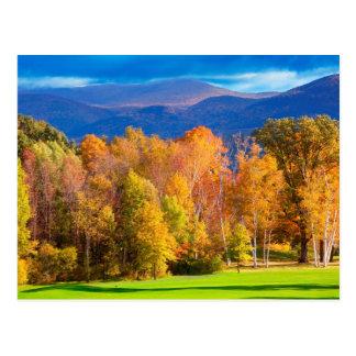 Landschaft in Vermont Postkarte