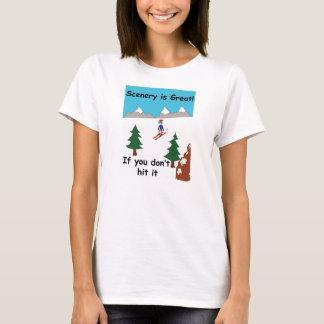 Landschaft ist groß, wenn Sie sie nicht schlagen T-Shirt