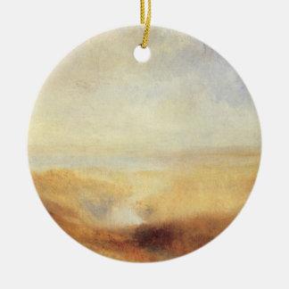 Landschaft mit entfernter Fluss-Bucht durch Joseph Keramik Ornament
