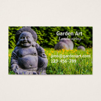 Landschaftlich gestaltende freiberuflich tätige visitenkarte