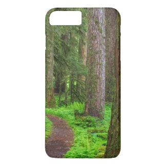 Landschaftlich vom Wald des alten Wachstums iPhone 8 Plus/7 Plus Hülle