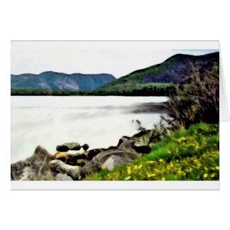 Landschaftliche Neufundland-Malerei Karte