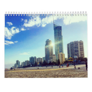 Landschaftlicher Kalender