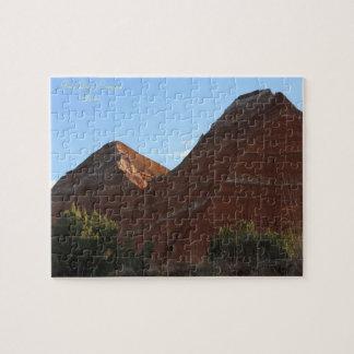 Landschaftliches Puzzlespiel