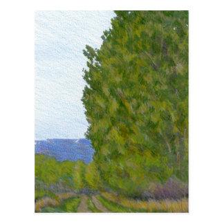 Landschafts-ländliche Colorado-Landschaft Postkarte