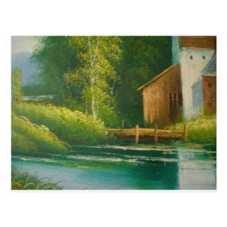 Landschaftsansichten Postkarte