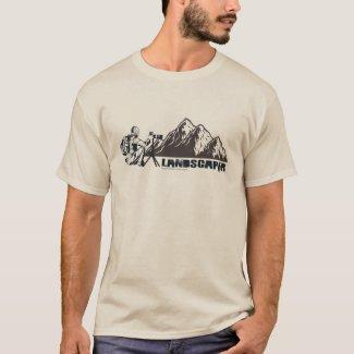 Landschaftsfotografie Berg Landschaften Fotograf T-Shirt