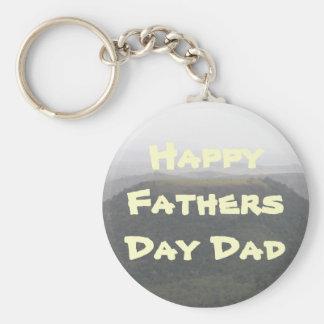 Landschaftsglückliches Vatertags-Geschenk Schlüsselband