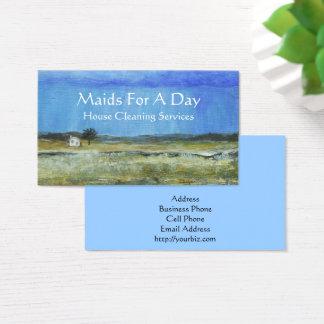 Landschaftskunst-kleines Visitenkarte