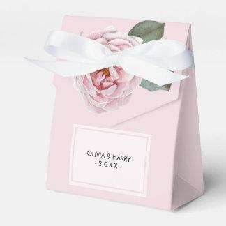 Landwatercolor-Rosen-Gastgeschenk Hochzeits-Kasten Geschenkschachtel