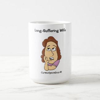 Lang-Leidende Ehefrau-Tasse Kaffeetasse