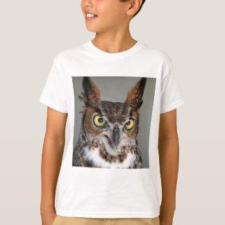 Lange ohrige Eule T-Shirt