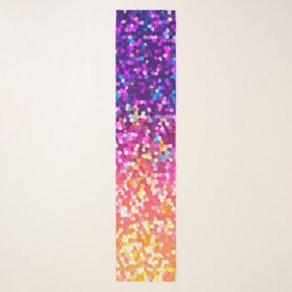 Lange Schal-Glitzer-Grafik Schal