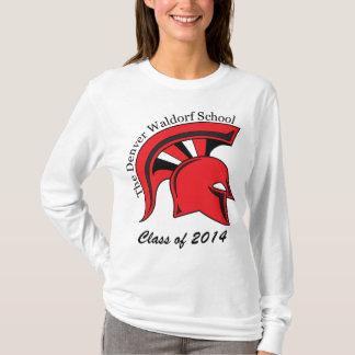Langer die Hülsen-T - Shirt der Frauen